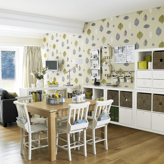 5 Dining Room Wallpaper Ideas