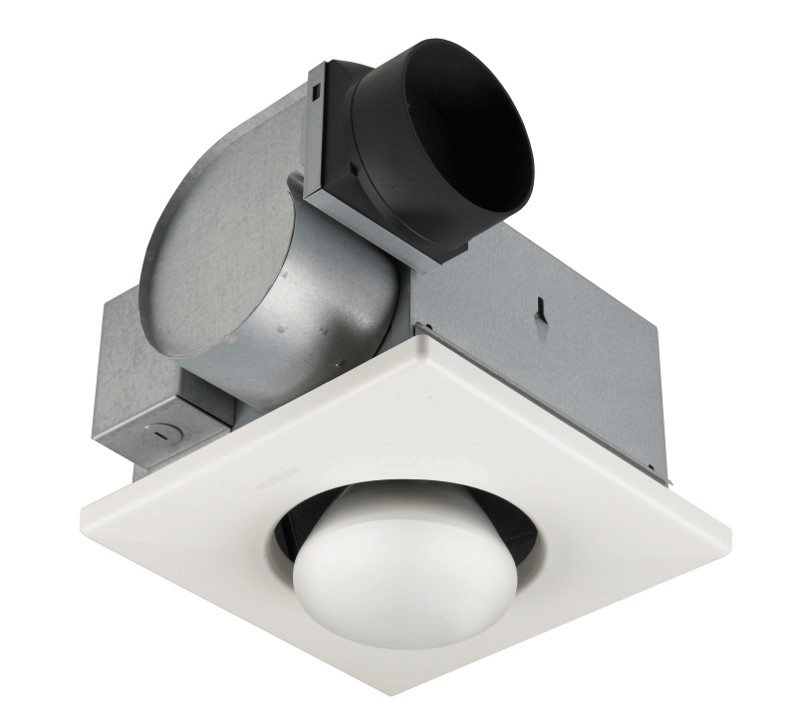 Bathroom exhaust fan bulb