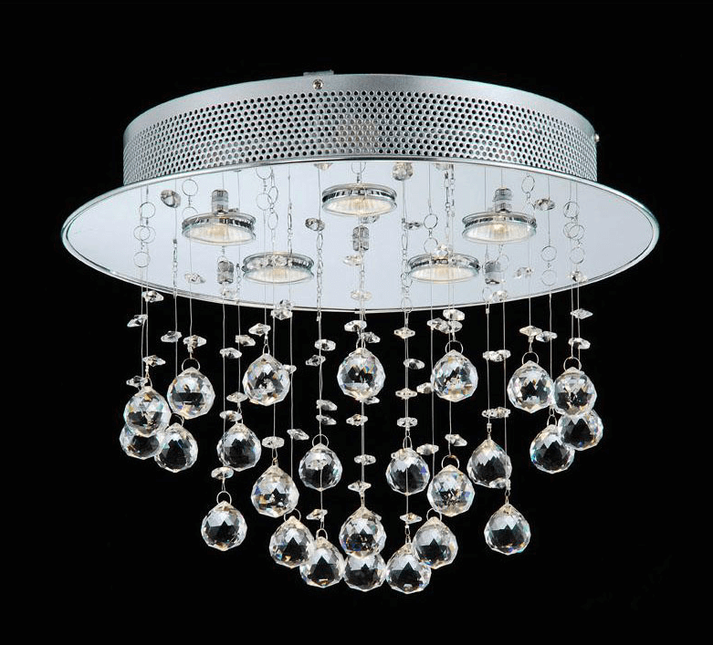 Bathroom exhaust fan chandelier
