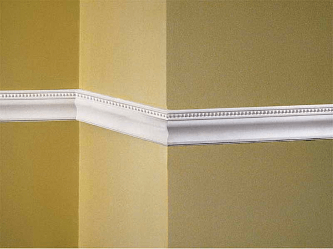 Bead and Pearl Wall Molding