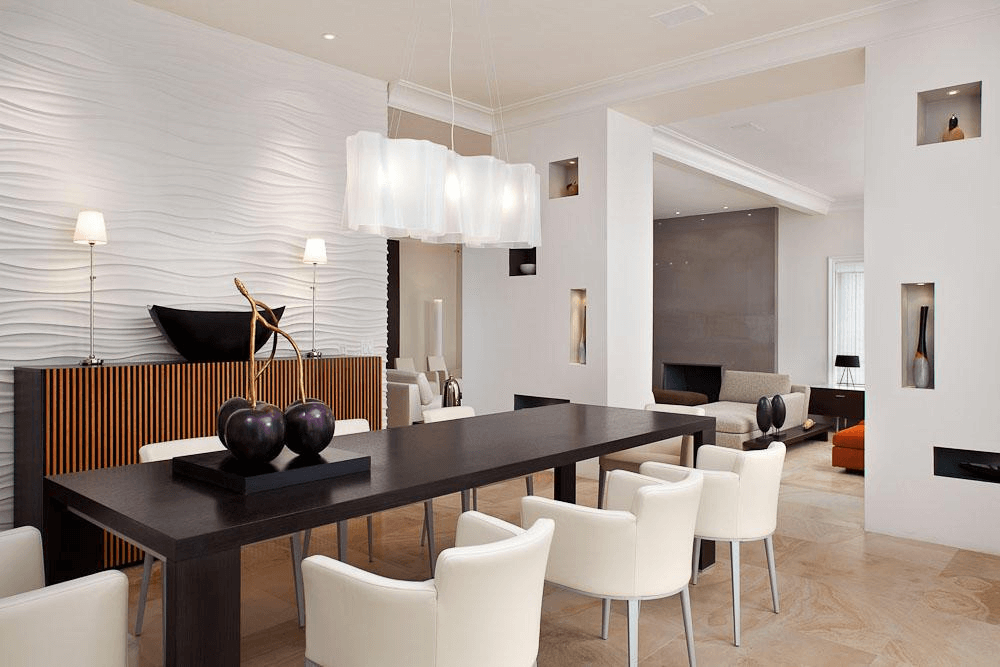 Contemporary Dining Room Wall Lighting Decor Ideas