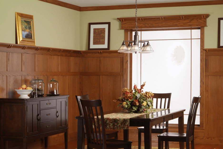 5 Dining Room Wall Paneling Ideas