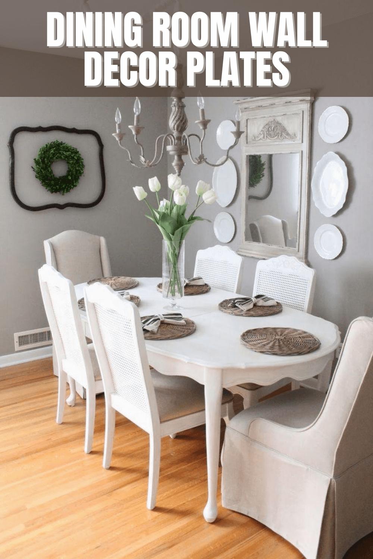 DINING ROOM WALL DECOR PLATES