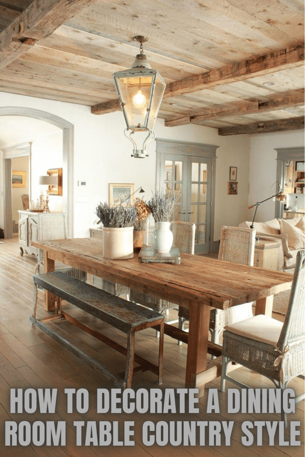 HOW TO DECORATE A DINING ROOM TABLE COUNTRY STYLE