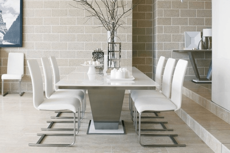 How to Decorate a Marble Top Dining Table for modern style room
