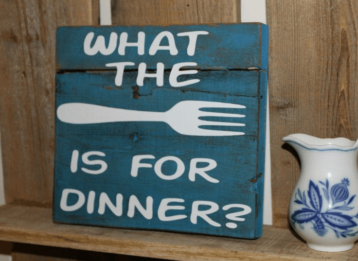 Kitchen sign funny for rustic home decor ideas