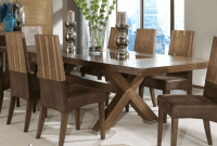 Large dining table decor ideas with candle centerpieces