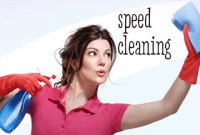 Simple tips how to speed clean home in few minutes