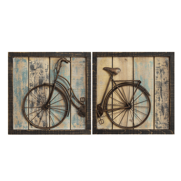 Stratton bycicle dining room wall decor farmhouse ideas