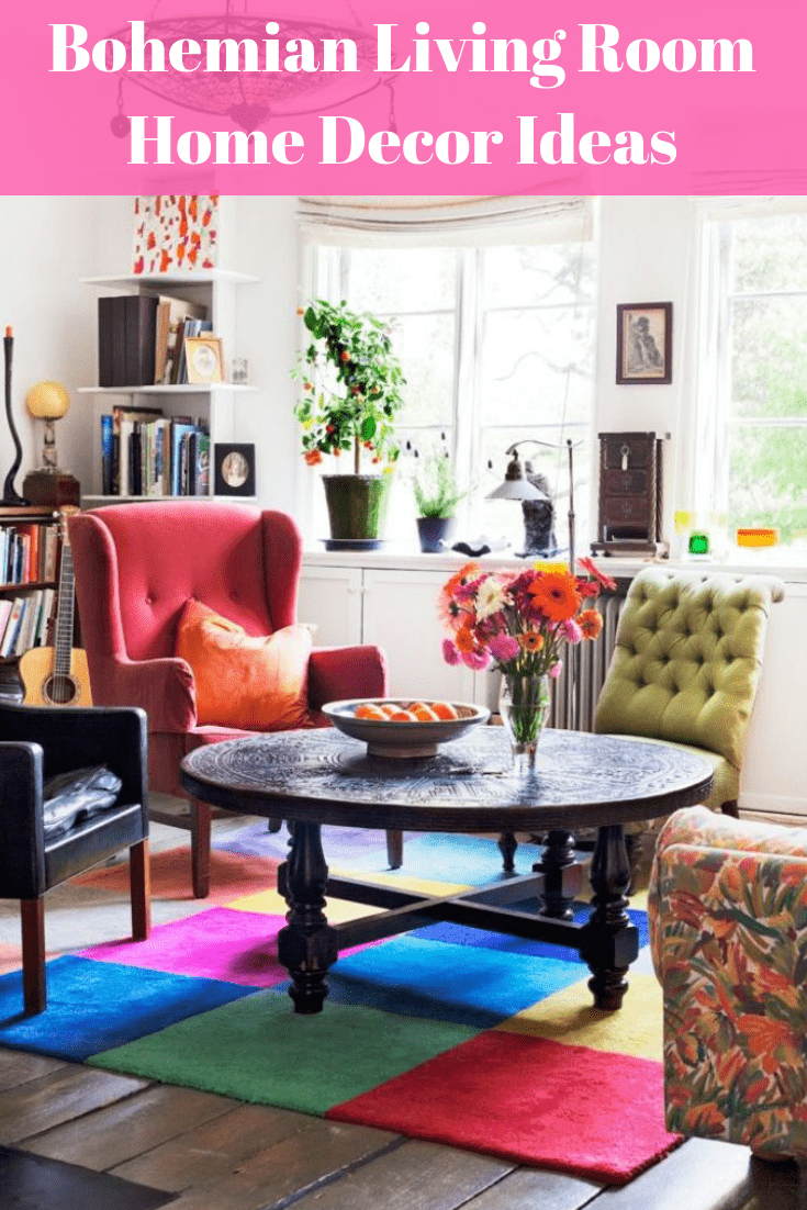 Bohemian Living room Home Decor Ideas