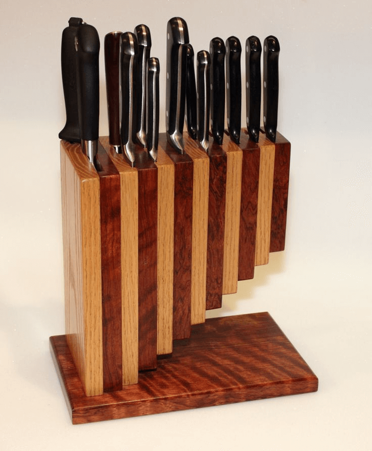 Kitchen Knives Storage DIY Homemade