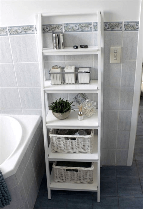 Bathroom tiny home storage ideas