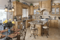 Dining and kitchen room Rustic italian decor ideas Classic Theme