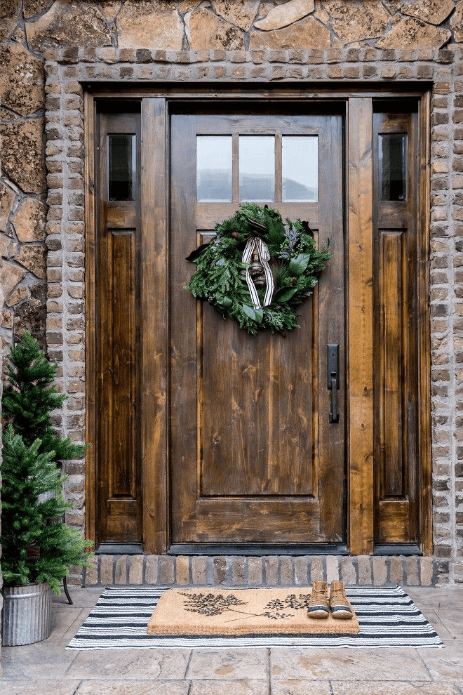 Entryway Door Rustic Italian Decor Ideas