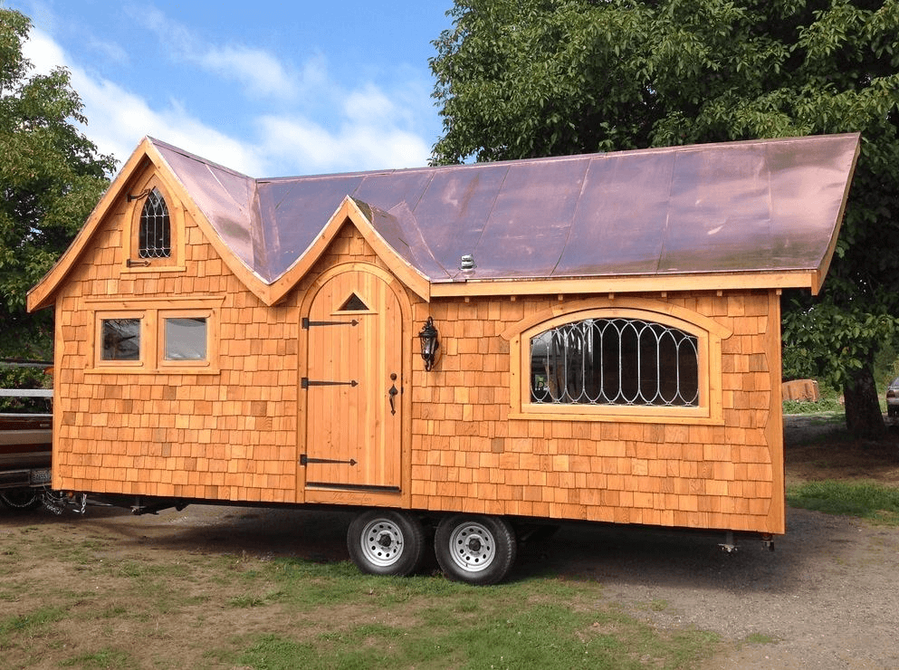 How much Tiny House on Wheels cost to build