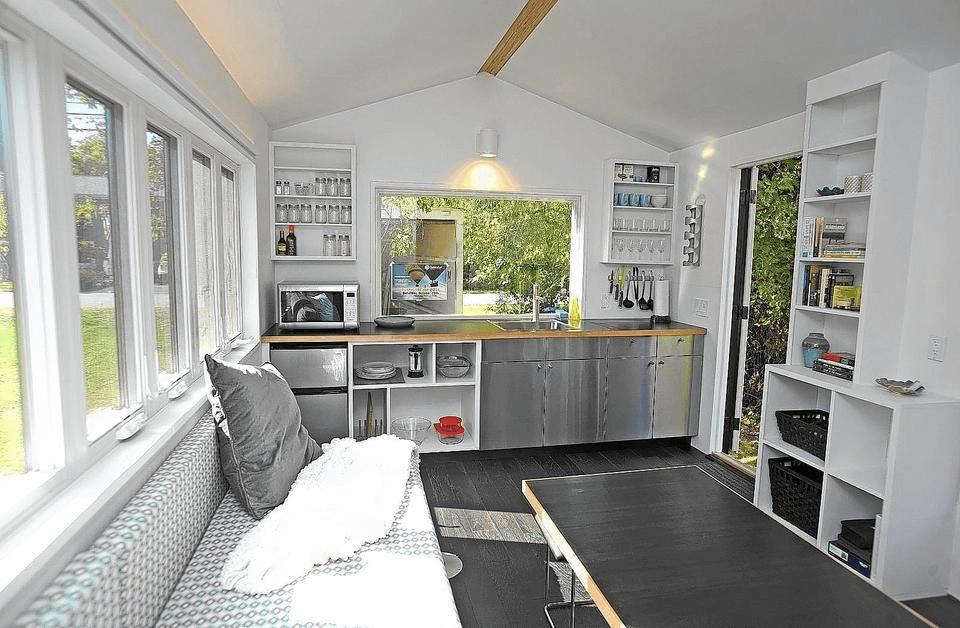 Interior design ideas tiny house 20 m2