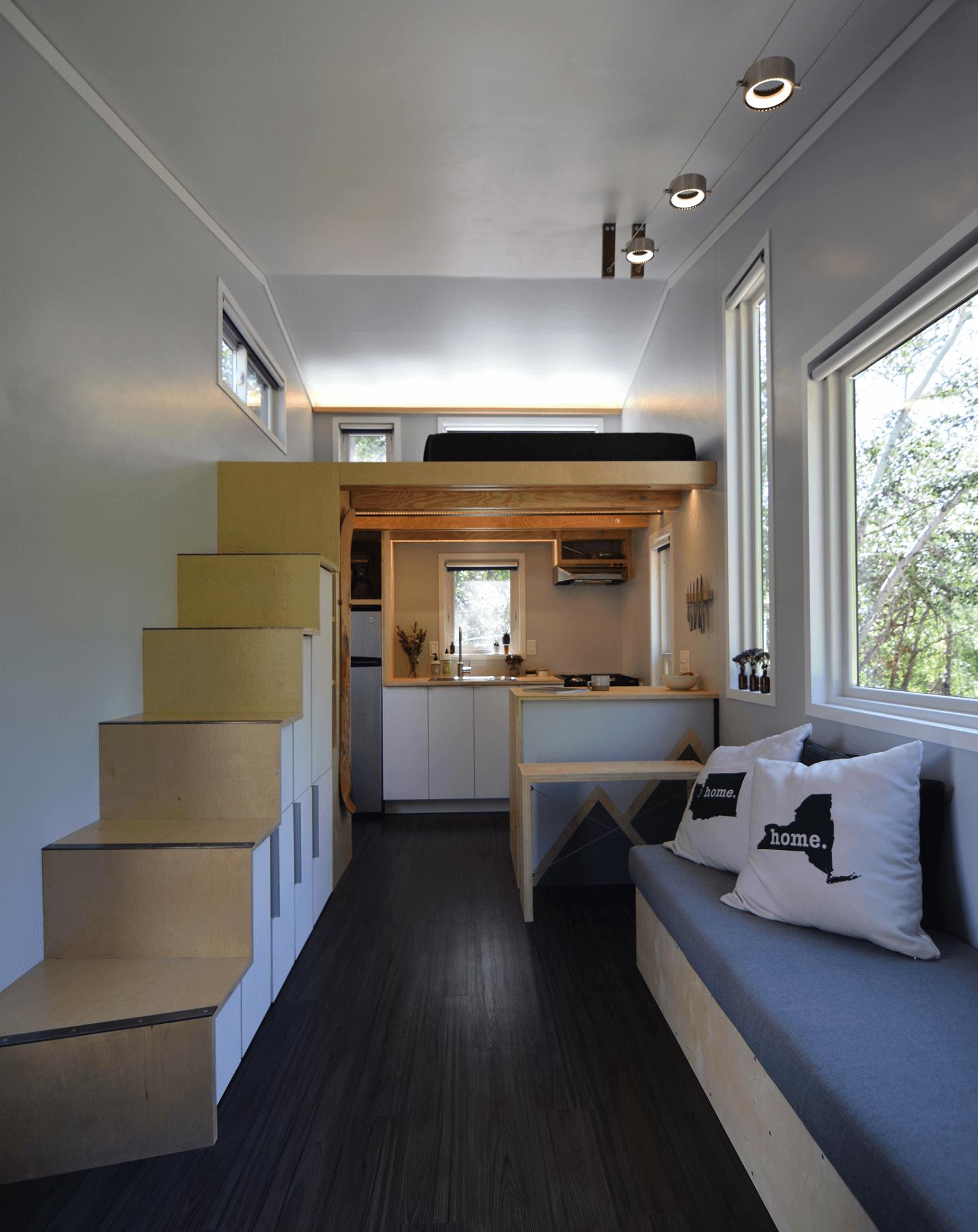 Modern interior tiny house designs