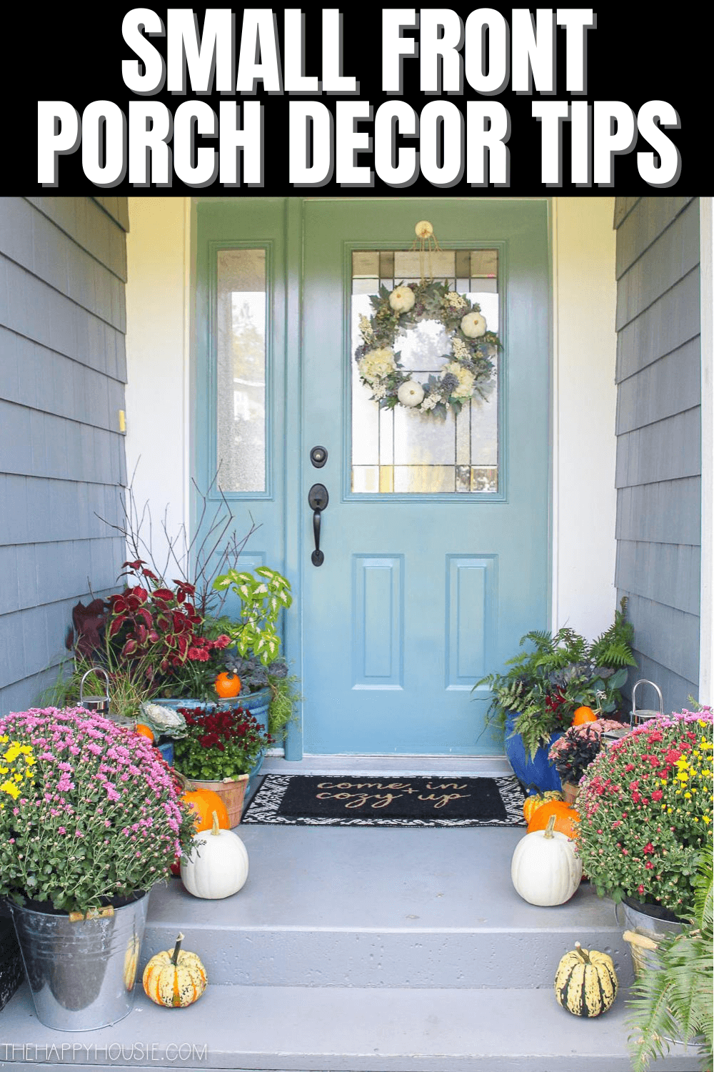SMALL FRONT PORCH DECOR TIPS