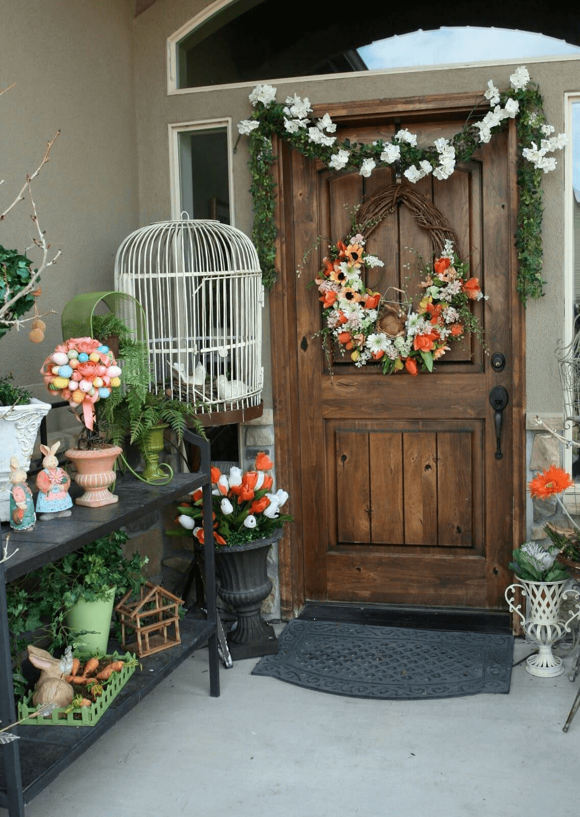 Small front porch decorating ideas DIY