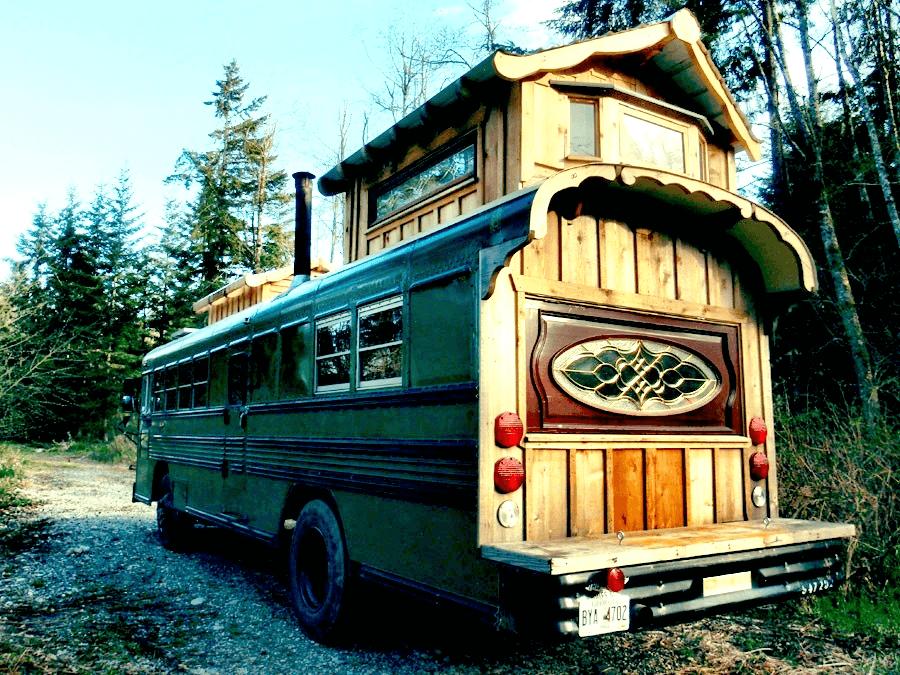 Tiny house bus design ideas