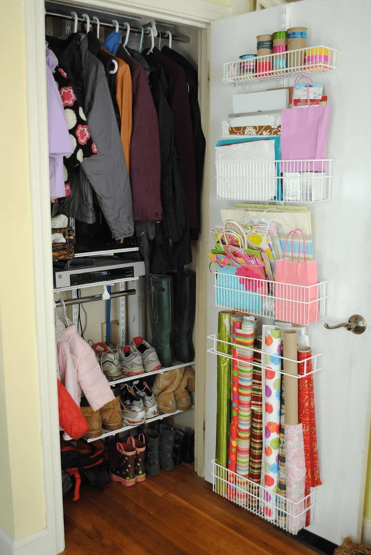 Tiny house closet storage ideas