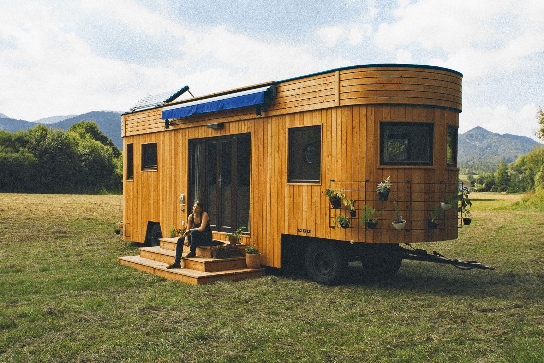 Tiny house england trailhouse