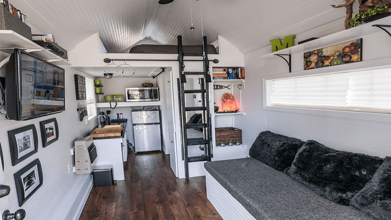 Tiny house furniture for interior design ideas