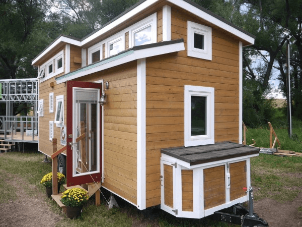 Trailer Tiny house outdoor storage