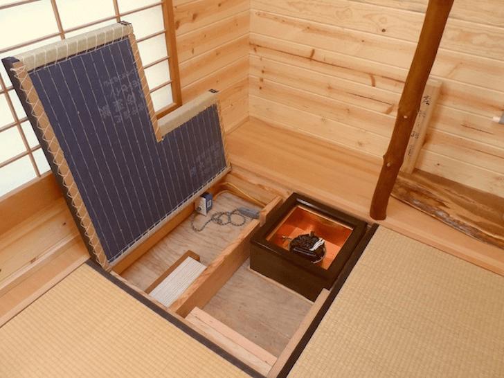 Under floor storage tiny homes design ideas