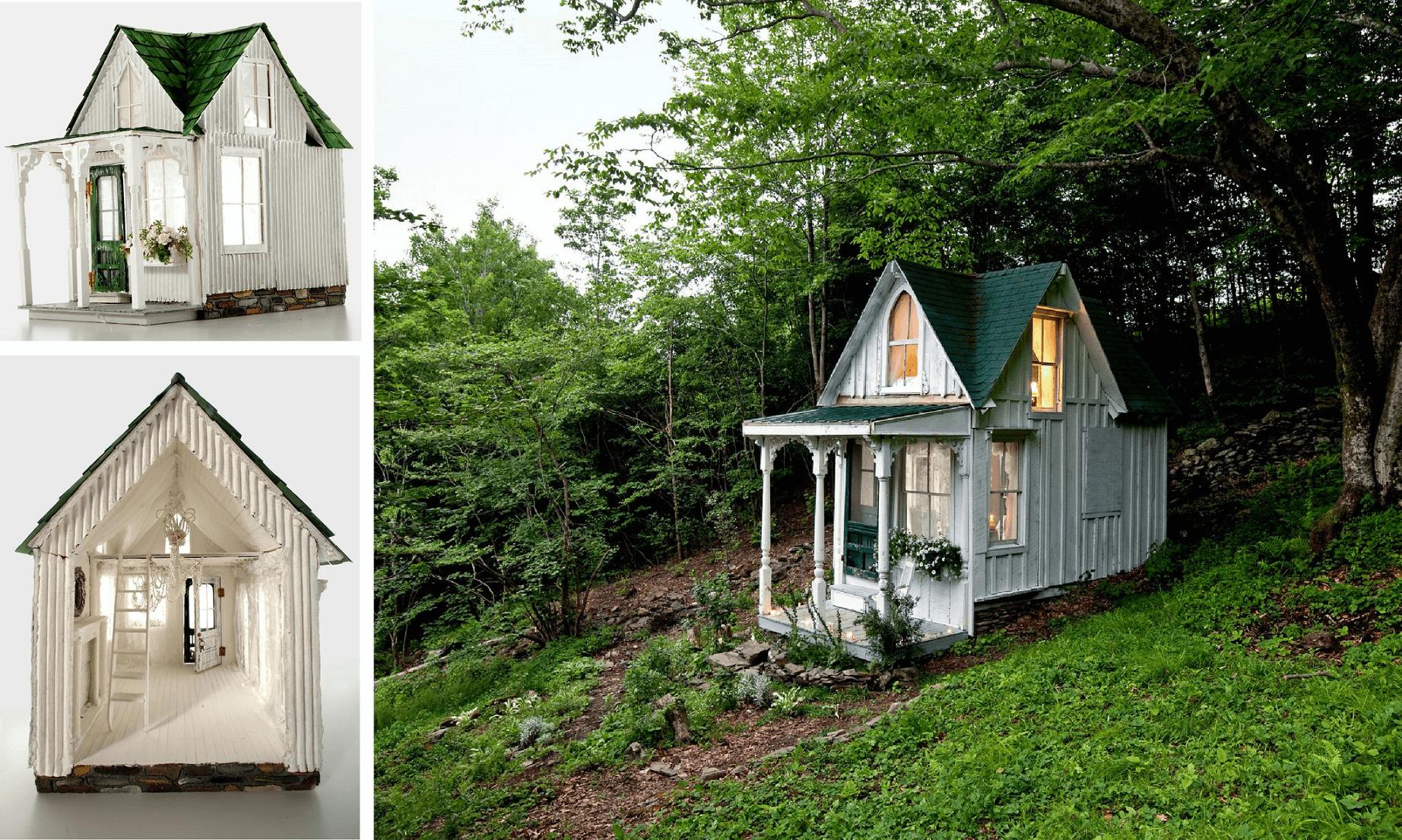 Victorian tiny house design ideas