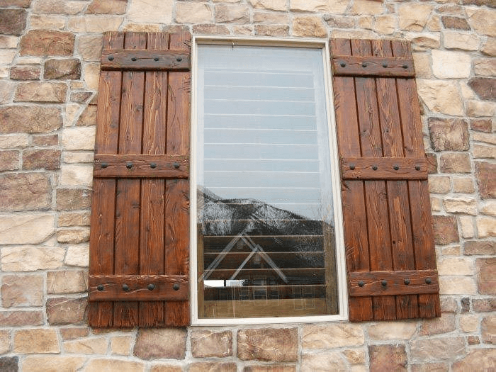Window Shutters Rustic Italian decor ideas