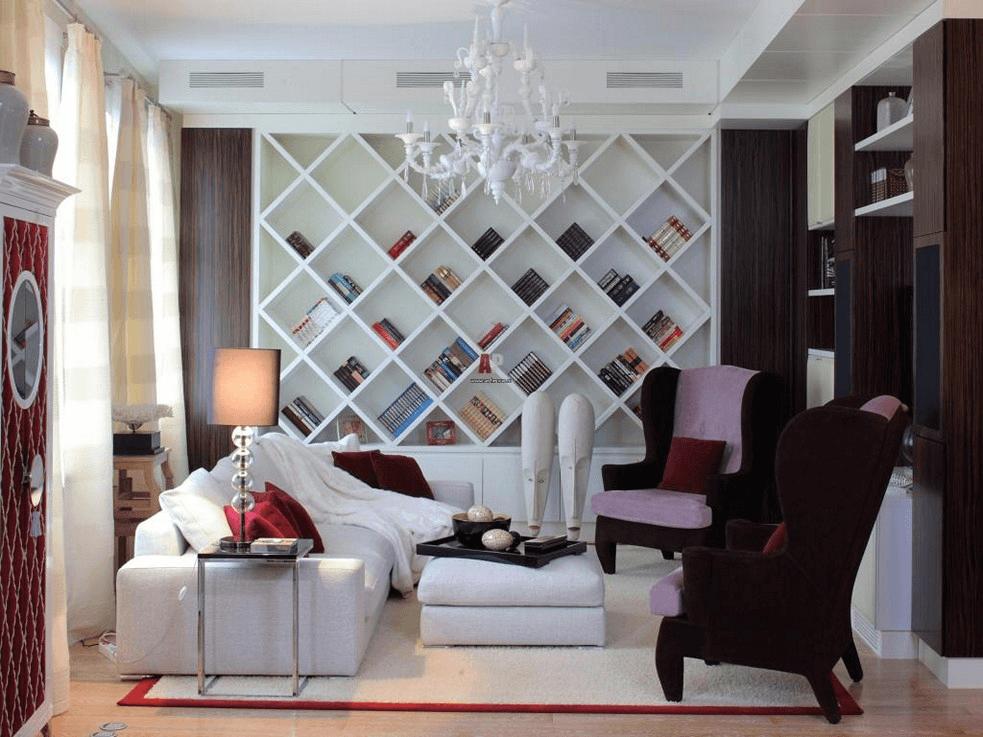 Nice tips using Smart Shelf for small living room