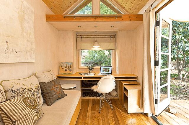 Optimize tiny house living room design ideas