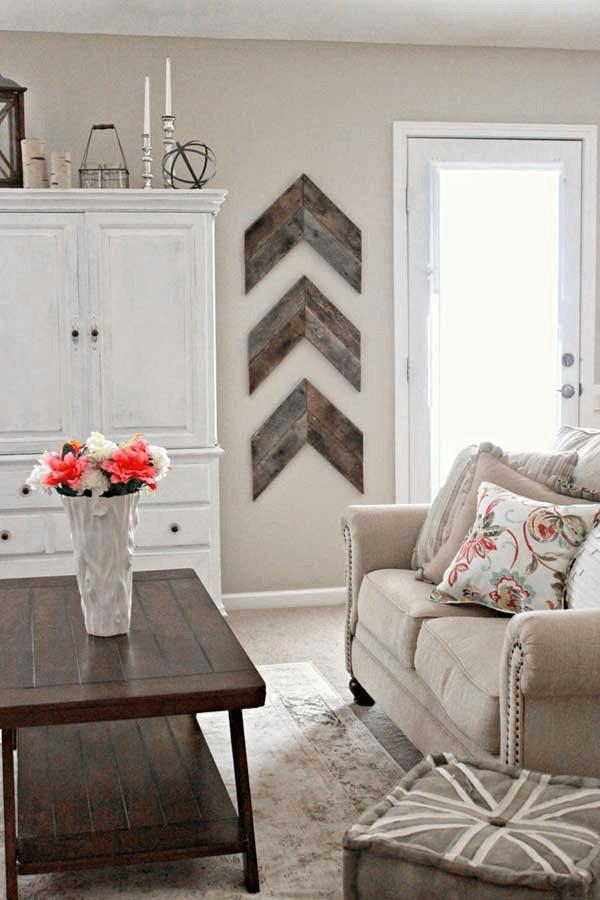 Pieced Wood Arrow Home Decor Ideas