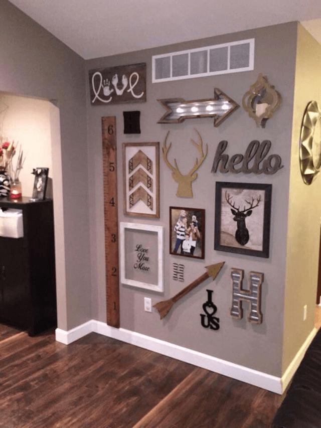 Wood Photo Wall Art Home Decor Ideas
