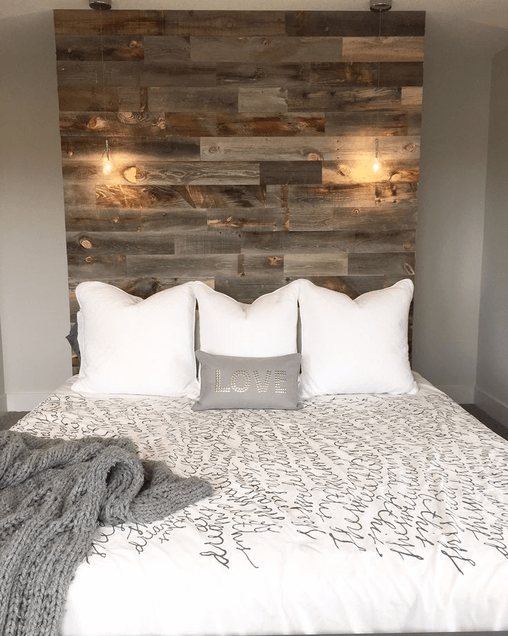 Wooden Headboard Recycled Decor Ideas
