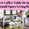 Best Ideas Coffee Table Design for Small Space Living Room