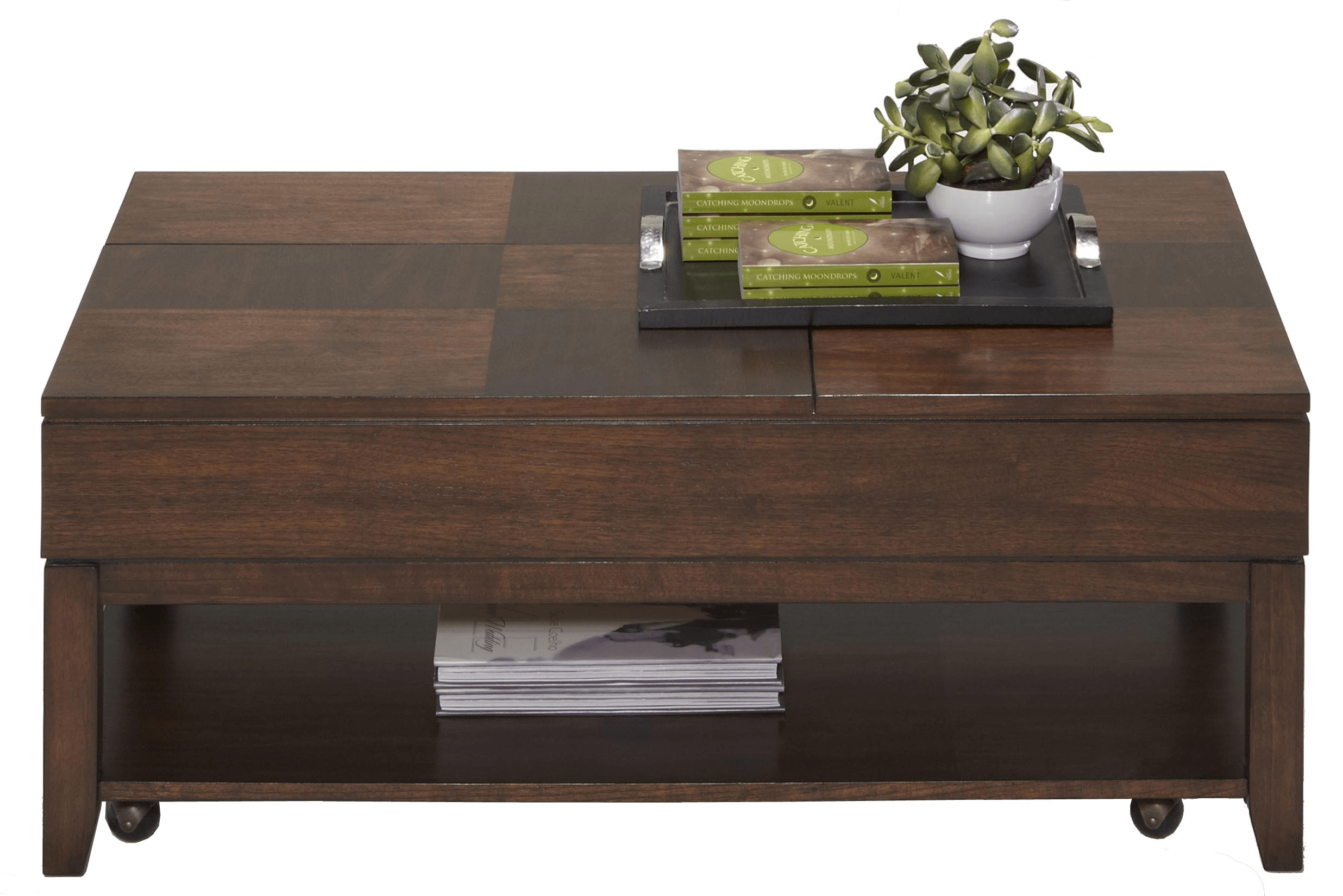 Daily Coffee Table with Double Lift-Top Ideas
