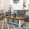 Farmhouse Coffee Table for Living Room Decoration