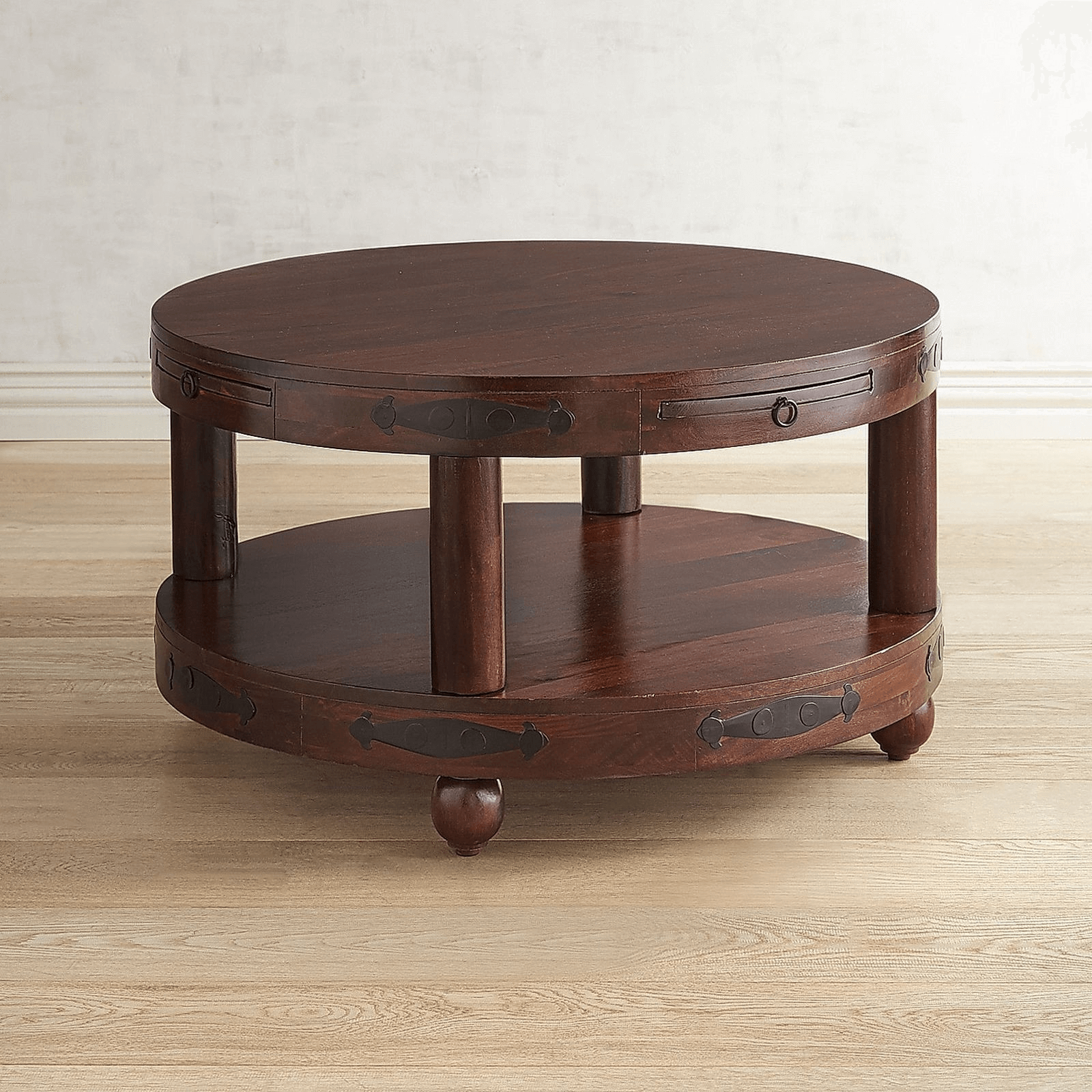 Lyon Modern Round Coffee Table
