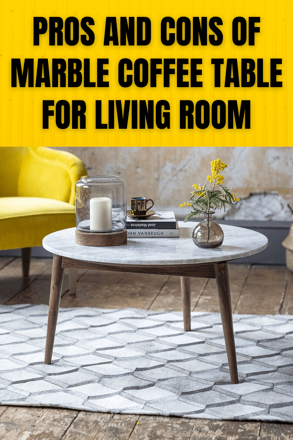 PROS AND CONS OF MARBLE COFFEE TABLE FOR LIVING ROOM