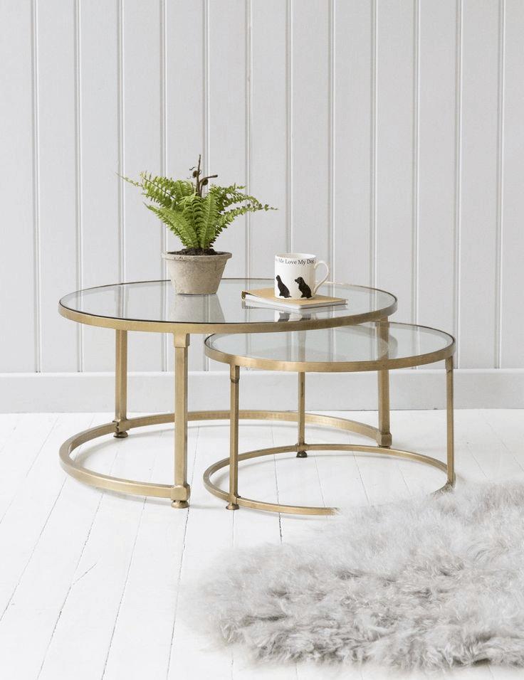 Unique round coffee table design ideas