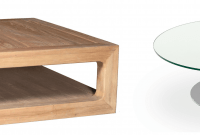 Wood Coffee Table vs Glass Coffee Table