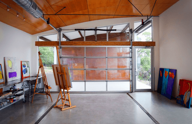 Art Studio garage makeover ideas