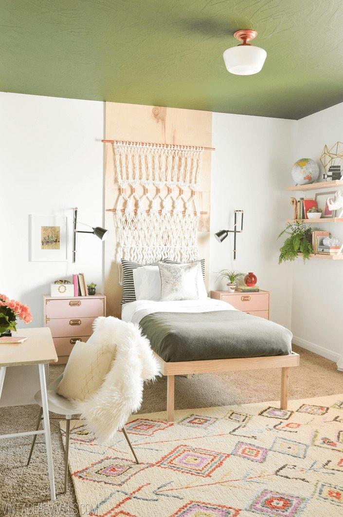 Bedroom makeover ideas DIY for teenage girl
