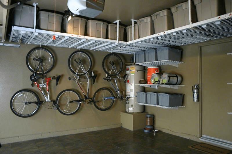 Best garage ceiling storage systems