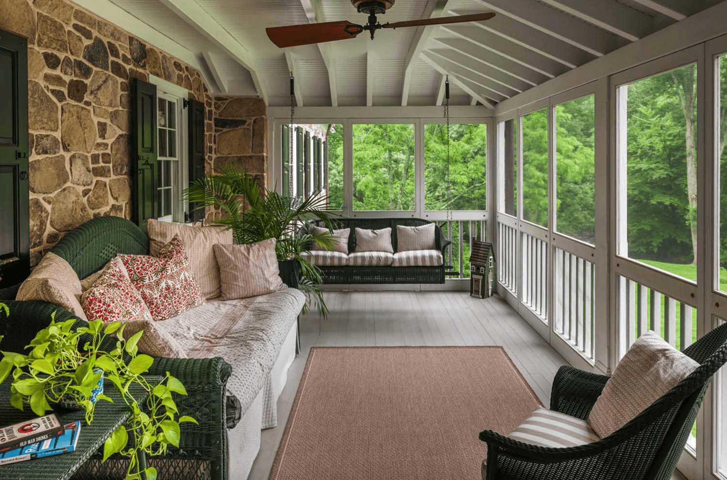 Creative Screened Porch Design Ideas