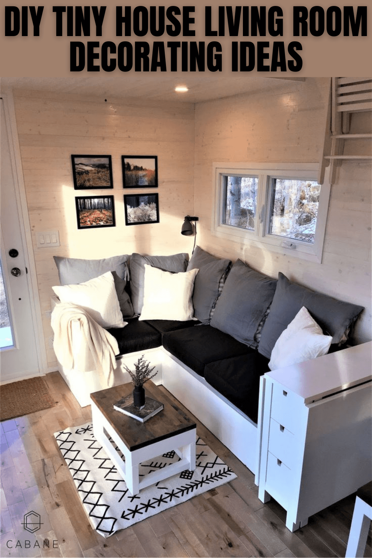 DIY TINY HOUSE LIVING ROOM DECORATING IDEAS