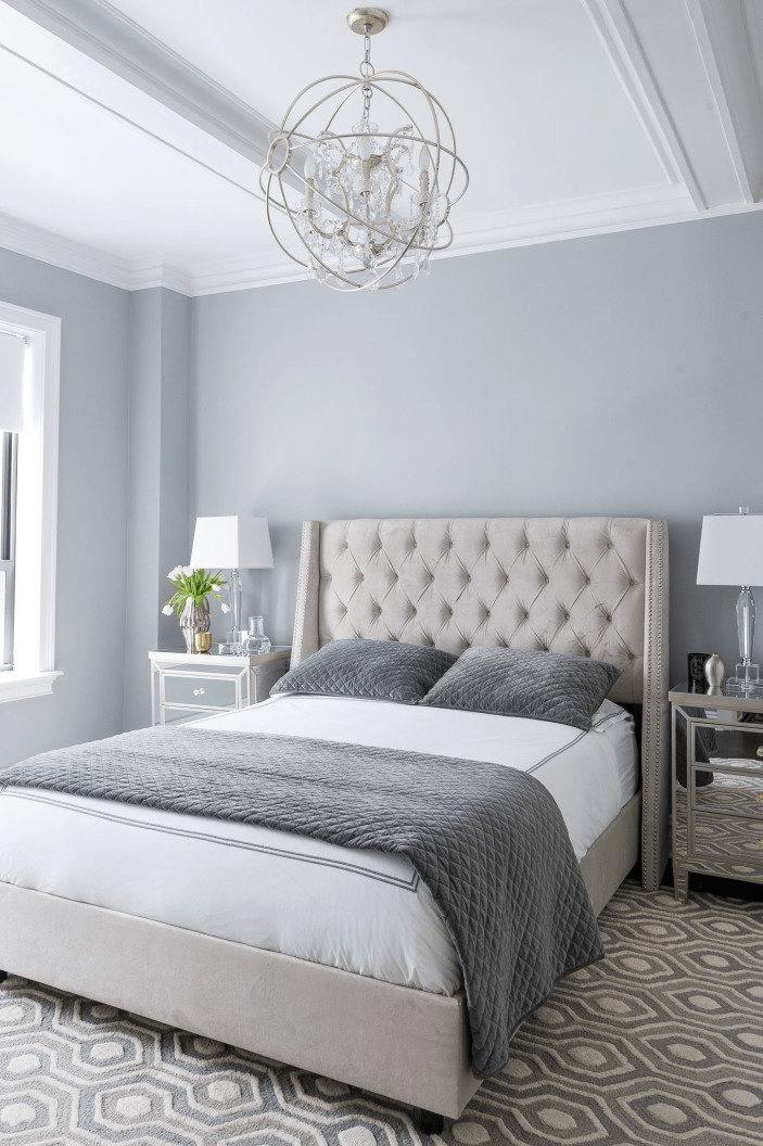 Gray bedroom makeover ideas