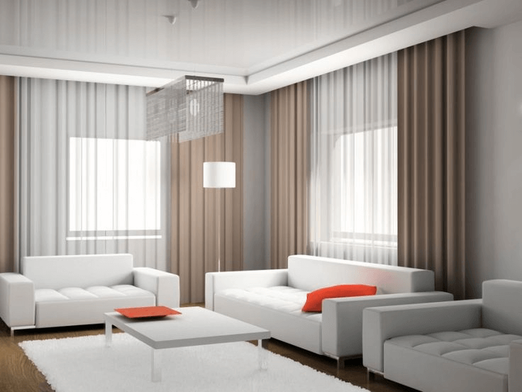 Modern Curtain Design Ideas for Living Room